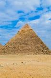 stor pyramid Arkivbild