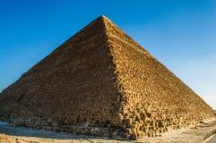stor pyramid Arkivbilder