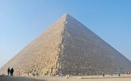 Stor pyramid av Giza, Egypten Royaltyfri Foto