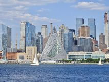 Stor pyramid av New York City Arkivbilder