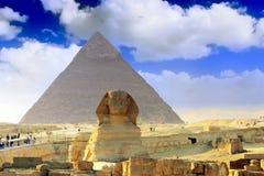 Stor pyramidKairo. Egypten. arkivfoton