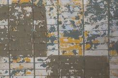 Stor röd brun gammal sjaskig textur för bakgrund för fyrkant för tegelstenvägg Retro Urban Brickwall ramtapet Grungy texturerade  Arkivbild