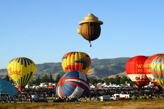 stor race reno för ballong Arkivbild