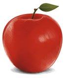 stor red för äpple Royaltyfria Foton