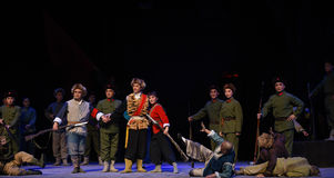 "Stor resultat-Peking opera som ""Taking Tiger Montain By Strategyâ € Royaltyfria Foton"