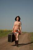 stor resväska Fotografering för Bildbyråer