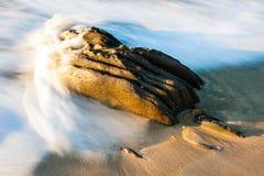 Stor rock Arkivfoto