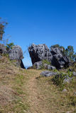 stor rock Arkivfoton