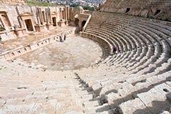 stor södra theatretown för antik jerash Royaltyfria Foton
