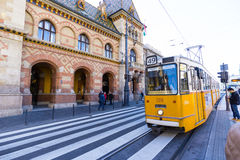Stor saluhall, Budapest Royaltyfria Foton