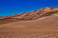 stor sand för dyner Arkivfoto