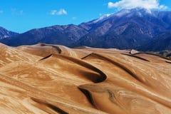 stor sand för dyner Arkivbild