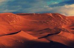 stor sand för dyner Arkivbilder