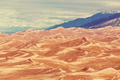 stor sand för dyner Royaltyfri Bild