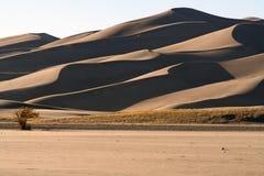 Stor Sanddynnationalpark royaltyfria foton