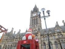 Stor Santa Claus docka Fotografering för Bildbyråer