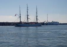 Stor segling Arkivbilder