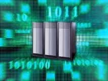 stor server stock illustrationer