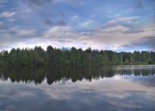 Stor sjö Arkivfoton