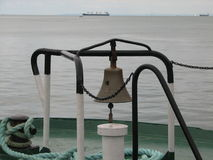 Stor skeppklocka royaltyfri foto