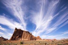stor sky Royaltyfria Foton
