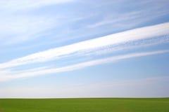 stor sky Arkivfoto