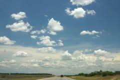 stor sky texas arkivfoton