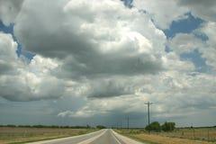 stor sky texas royaltyfria bilder