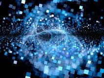 Stor smäll av framtida teknologier Arkivfoto