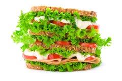 stor smörgås Arkivfoto