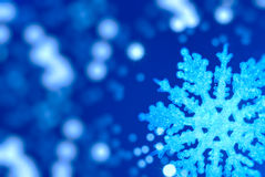 stor snowflake för bakgrundsjul Fotografering för Bildbyråer