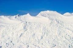 Stor Snowstapel arkivbild
