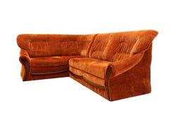 Stor sofa Arkivfoto