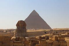 stor sphinx Royaltyfri Foto