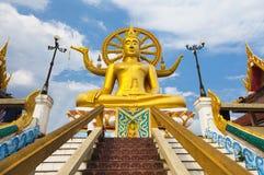 stor staty thailand för buddha kohsamui Royaltyfri Bild
