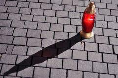 stor stearinljusred Royaltyfri Foto