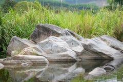 stor sten Royaltyfri Foto