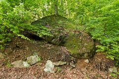 stor sten Arkivbild
