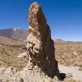 Stor stenmonolit Fotografering för Bildbyråer