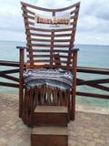 stor stol Royaltyfri Fotografi