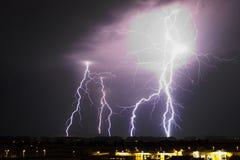 Stor storm Arkivfoton