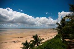 stor strand Arkivfoto
