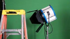 Stor studio som tänder satsen 5000 watt med den mjuka asken Arkivbilder
