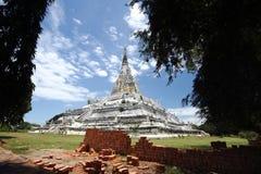 Stor stupa Arkivbilder