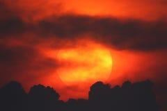 stor sun Royaltyfria Bilder