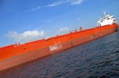 stor supertanker Royaltyfri Fotografi