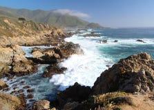 Stor Sur kust, nära Monterey, Kalifornien, USA Royaltyfri Foto