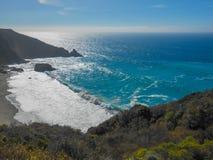 Stor Sur strand Kalifornien Arkivfoton