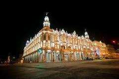 Stor teater av havannacigarren, aka Lorca Theatre, i havannacigarr, Kuba på n Arkivbilder