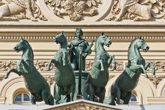 Stor teater i Moscow Royaltyfri Foto